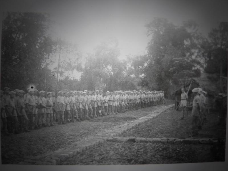 Le chef de bataillon de Lanlay et le 2/6ème RTM P1000429
