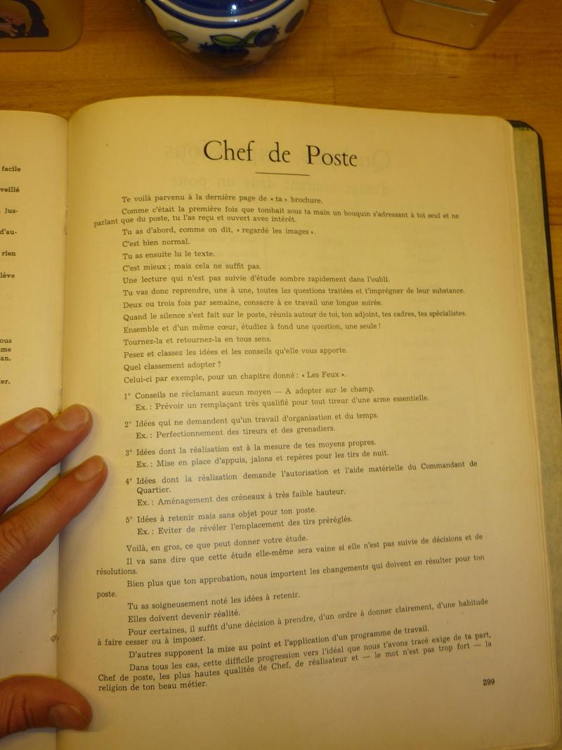 LE POSTE manuel a l'attention des futurs chefs de poste P1010727