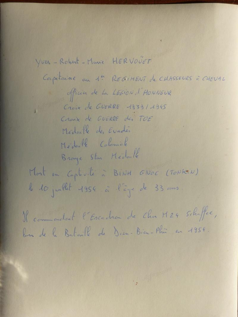 Capitaine Yves HERVOUET, 1er RCC, MPLF en 1954 P1010732