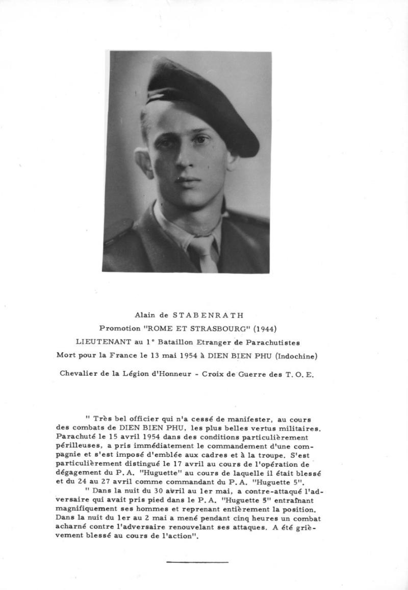 Lieutenant Alain DE STABENRATH, 1er BEP, MPLF en 1954 Sta_jg10