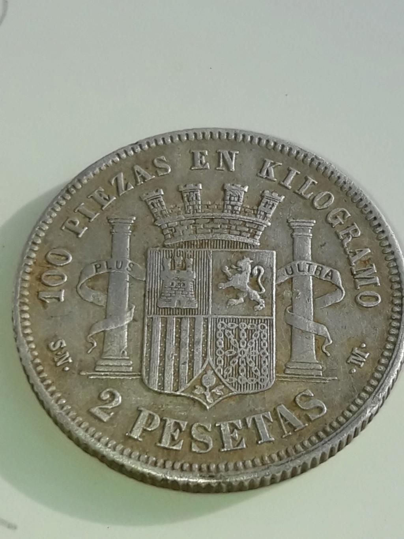 2 pesetas 1869. Gobierno Provisional. Opinión Img-2013