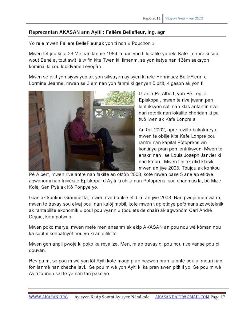 AYISYEN KI AP SOUTNI AYISYEN NETALKOLE (AKASAN) - RAPO 2011 Rapa_211