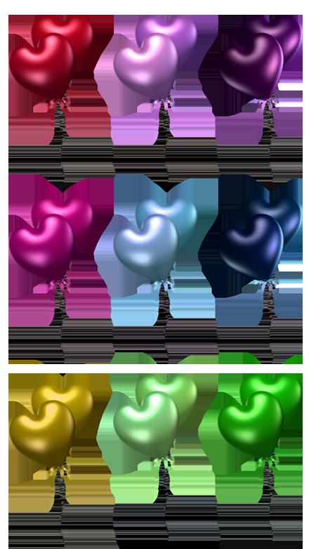 سكرابز بالونات للتصميم 25