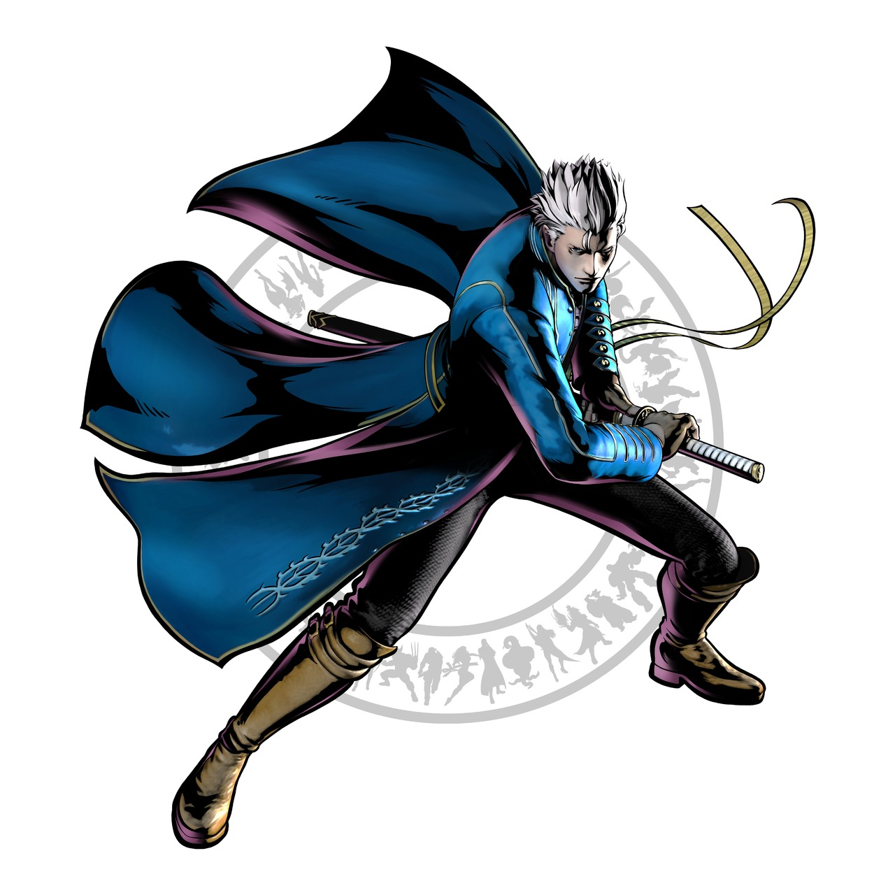 Vergil dans Ultimate Marvel vs. Capcom 3 Ultima11