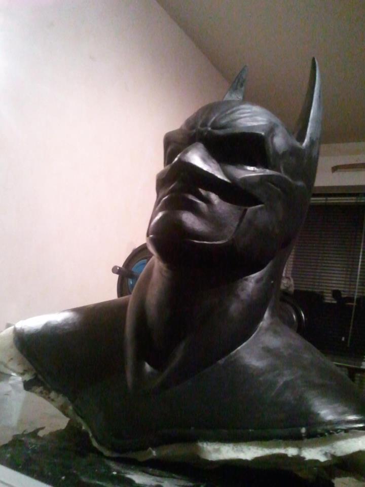 my batman mask bust ! 38178710