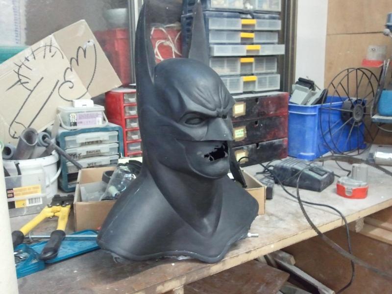 my batman mask bust ! Photo212