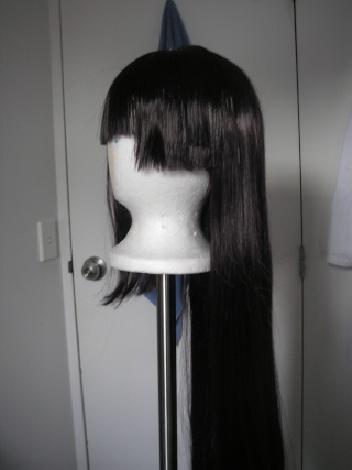 [COMMIS] WIG SYLING, DETANGLING & STRAIGHTENING  P1011522