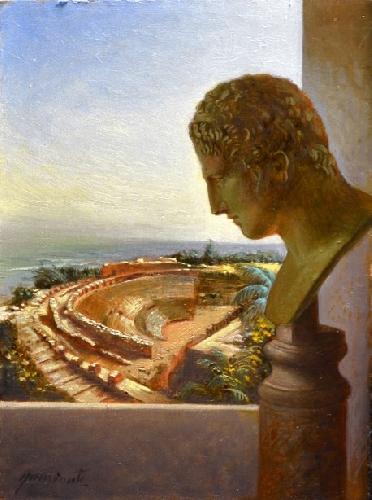 """MOSTRA A TAORMINA; """"Viaggio a Taormina"""" 4-30 Agosto 2012 Fondazione Mazzullo. Anteprima di alcune opere del maestro.. Viaggi11"""