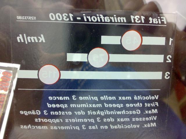 FIAT - Adesivo sicurezza bambini 31052010