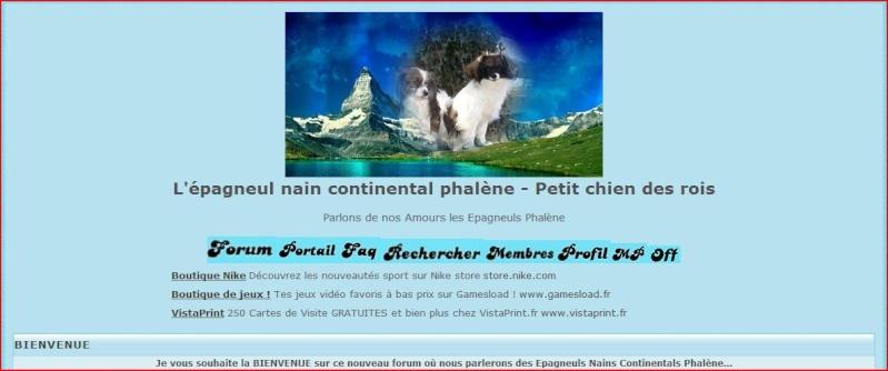 Nouveau forum Phalène, bravo Maminou !!! 1111