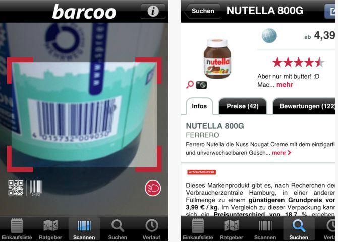 Handy- App´s Barcoo11