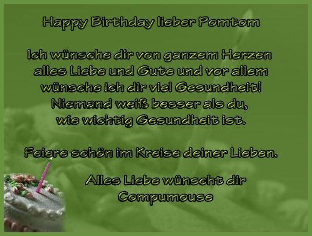 Happy Birthday Pomtom Geburt13