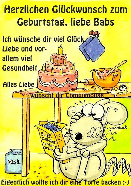 Happy Birthday Babs Geburt16