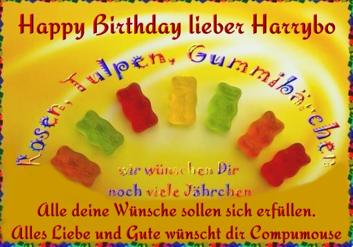 Happy Birthday Harrybo Geburt21