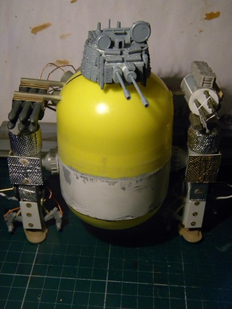 Robot,projet terminé. Marc_027