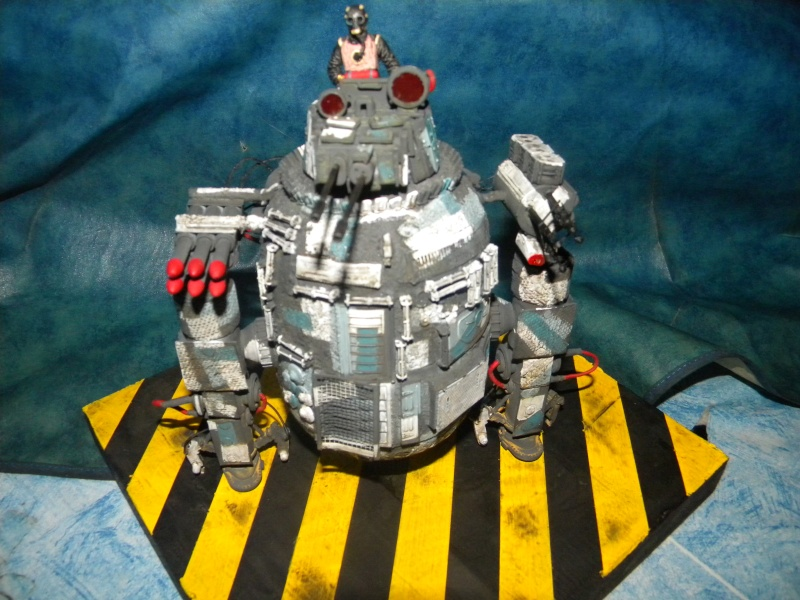 Robot,projet terminé. Marc_033