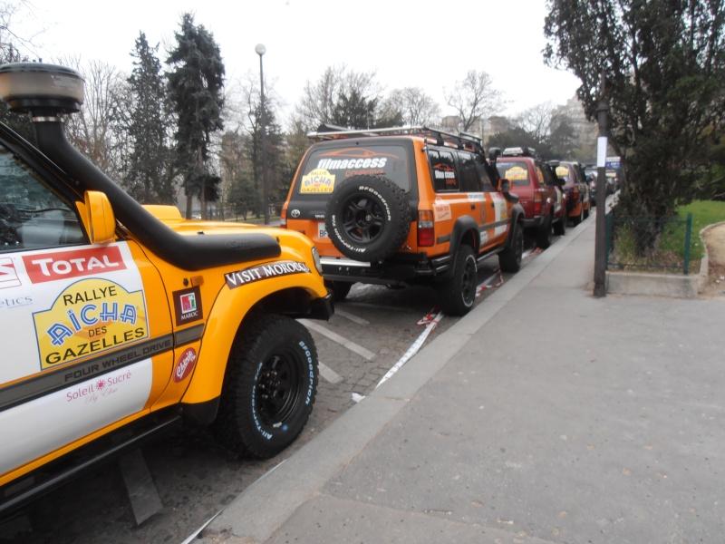 22ème Rallye Aïcha des Gazelles N°213 à surveiller P3170012
