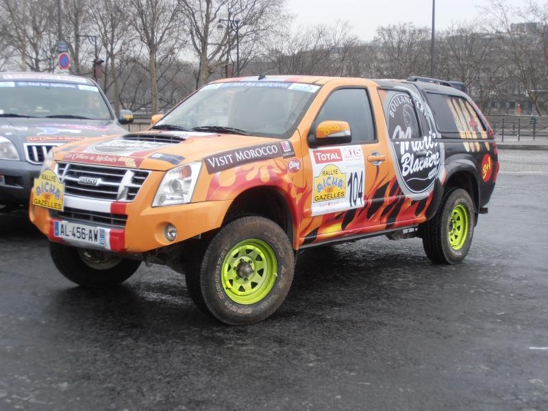 22ème Rallye Aïcha des Gazelles N°213 à surveiller P3170027
