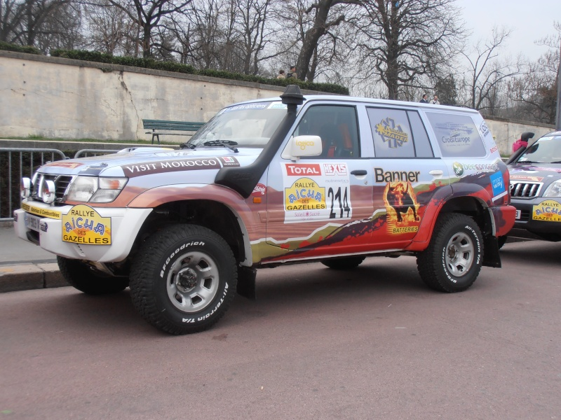 22ème Rallye Aïcha des Gazelles N°213 à surveiller P3170049