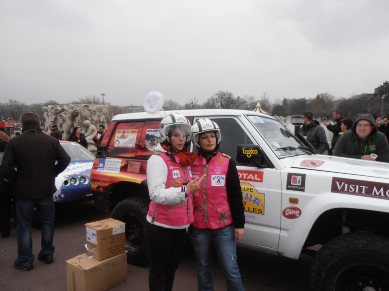 22ème Rallye Aïcha des Gazelles N°213 à surveiller P3170060