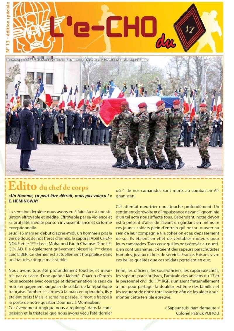 Montauban : 2 paras du 17e régiment du génie parachutiste assassinés et un grièvement bléssé.. - Page 5 111