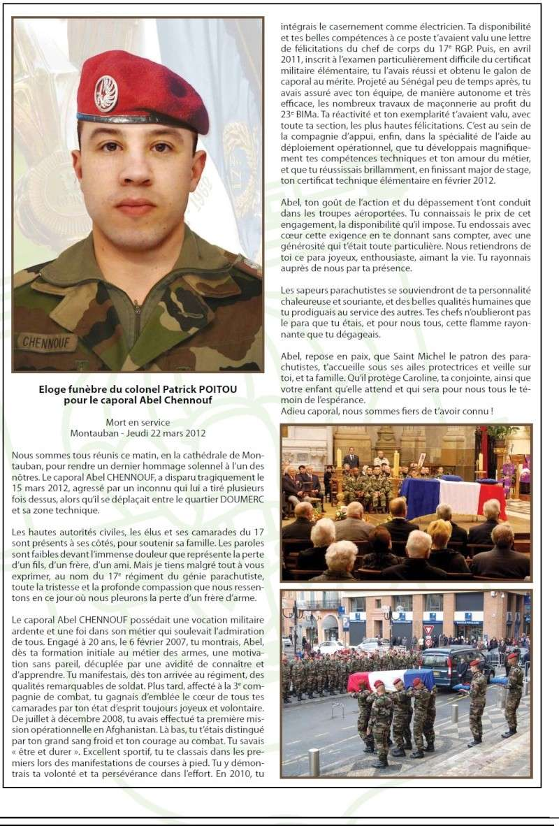 Montauban : 2 paras du 17e régiment du génie parachutiste assassinés et un grièvement bléssé.. - Page 5 410