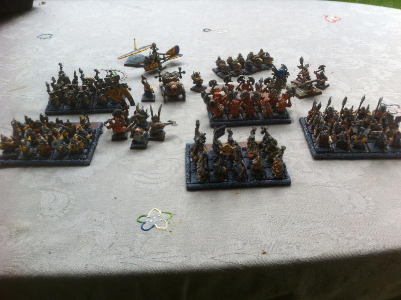 [HS]  VENTE  armée naine WHB entièrement peinte Armae_10