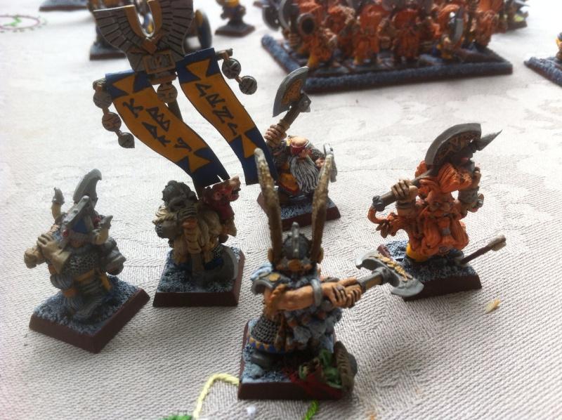 [HS]  VENTE  armée naine WHB entièrement peinte Haros10