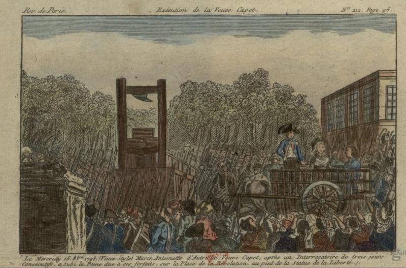 16 octobre - L'exécution de Marie-Antoinette le 16 octobre 1793 Captur12