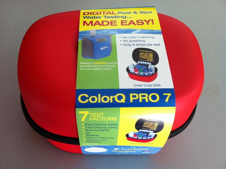 Le colorQ pro 7 est arrivé - Tests Colorq10