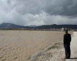 Tarım arazileri sular altında! Baskin10