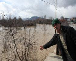 Tarım arazileri sular altında! Baskin11