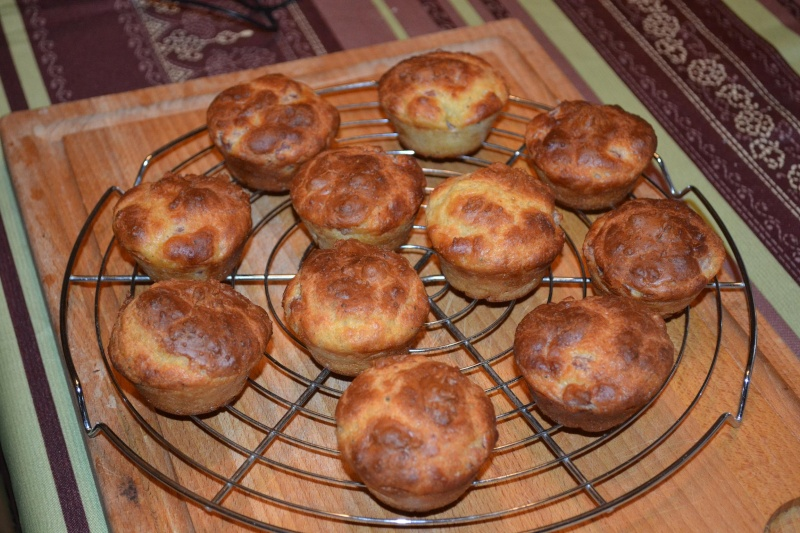 Muffins jambon-fromage Muffin12