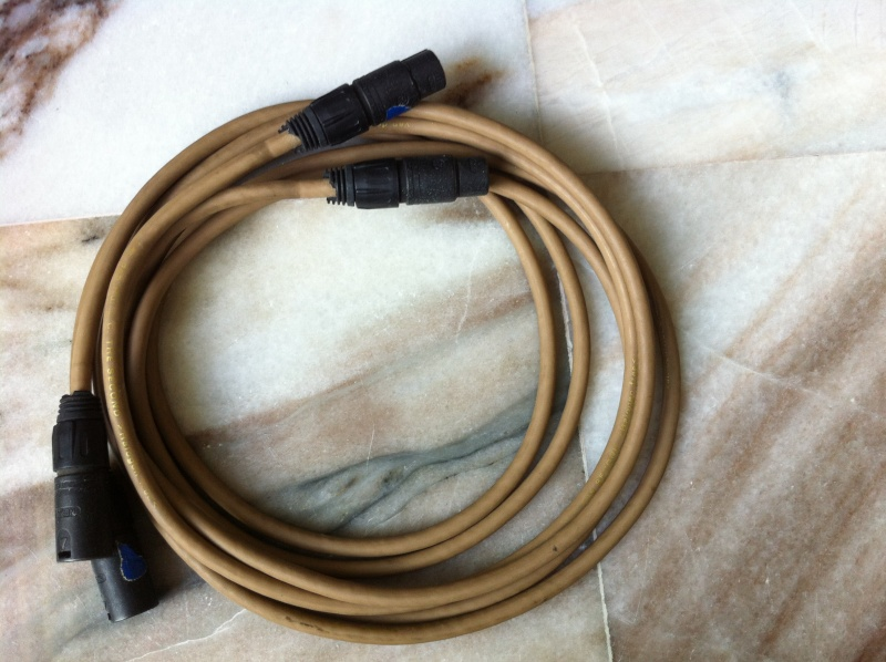 Van Den Hul The Second balance interconnects(used) sold Cable_13