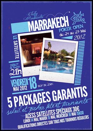 """Satellite qualificatif pour le Marrakech Poker Open """"Spécial clubs"""" au CCM le 17/05 Mpo-5110"""