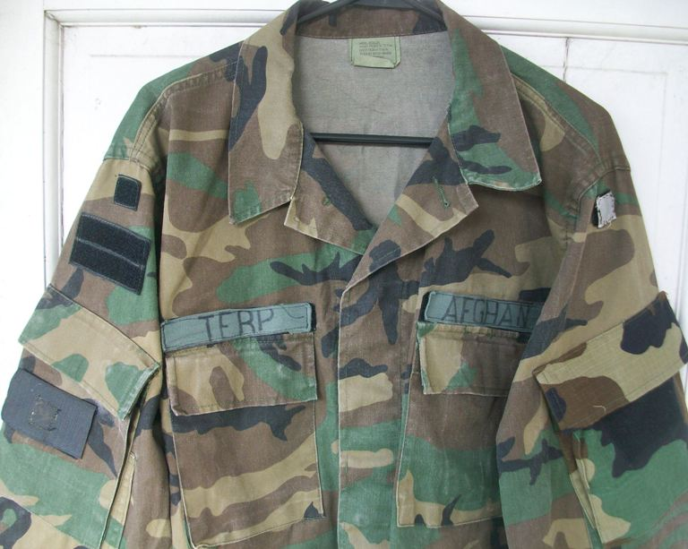 Afghan Terp Modified BDU  Jacket - Circa 2003 00132