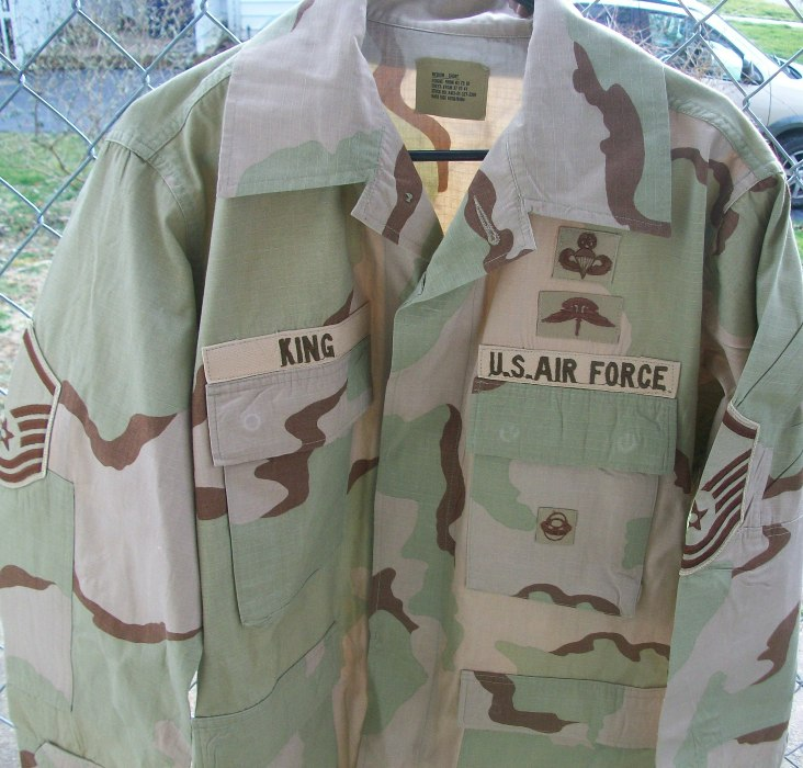 USAF Pararescue DCU - Early OEF Used 00136