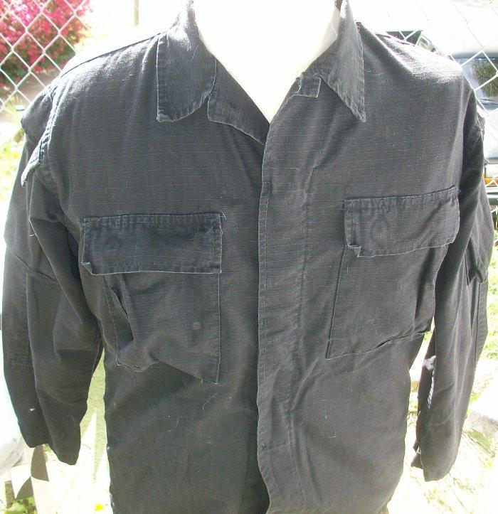Black Modified BDU Set - SEAL Used 00155