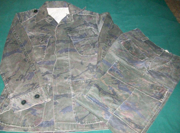El Salvador Dark Tiger Stripe Set 00156