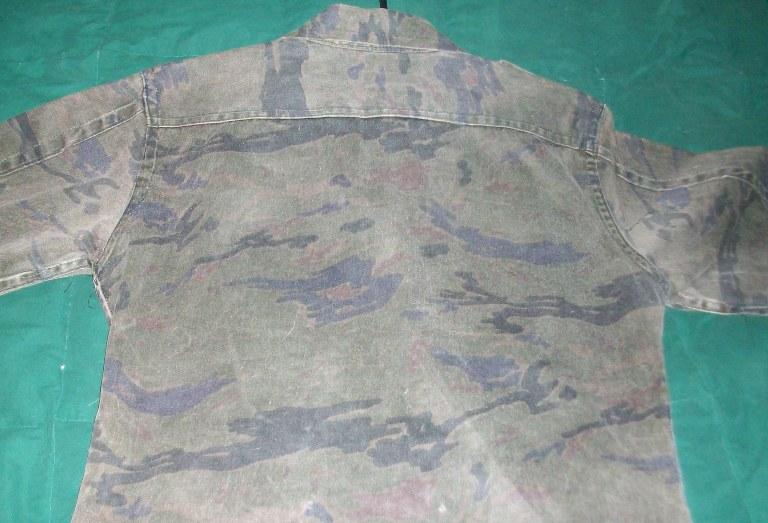 El Salvador Dark Tiger Stripe Set 00157