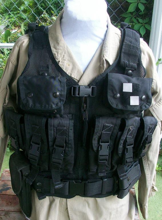 American Body Armor Black Modular Vest 00167