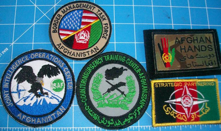Afghan Theater Made Patches 00177
