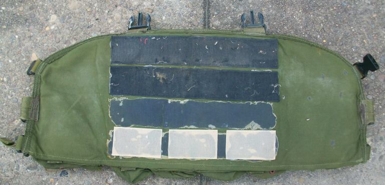 Spray Painted and Modified Blackhawk Commando Chest Rig 00229