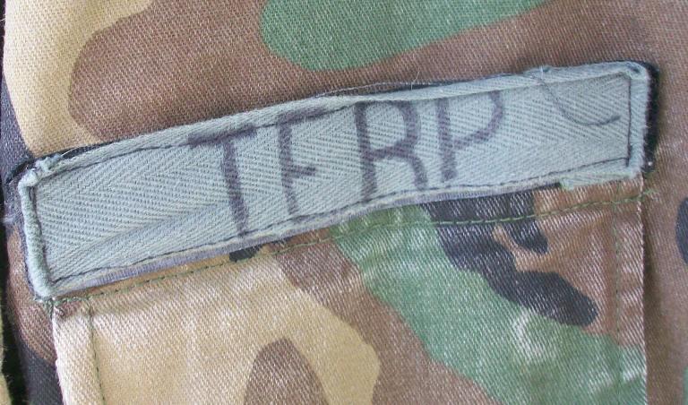 Afghan Terp Modified BDU  Jacket - Circa 2003 00237