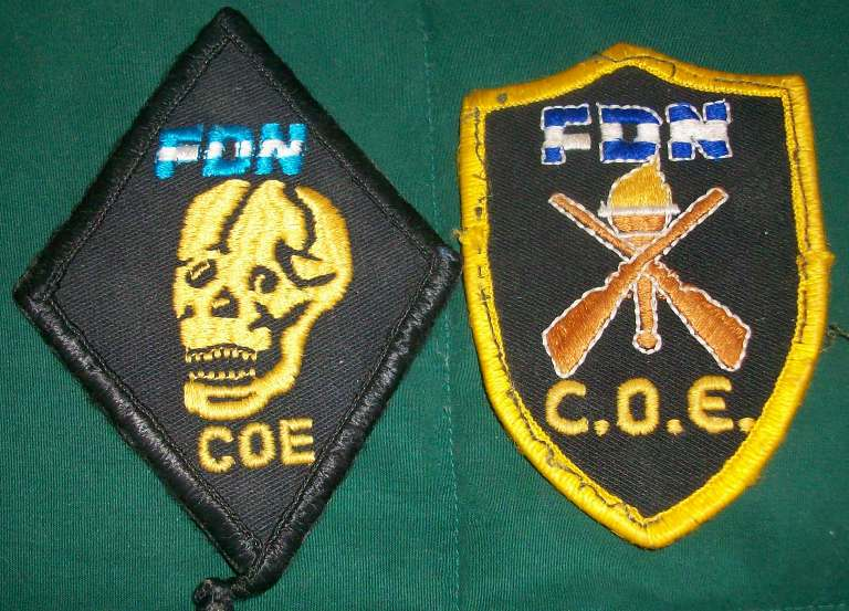 Nicaraguan FDN COE patches 00256