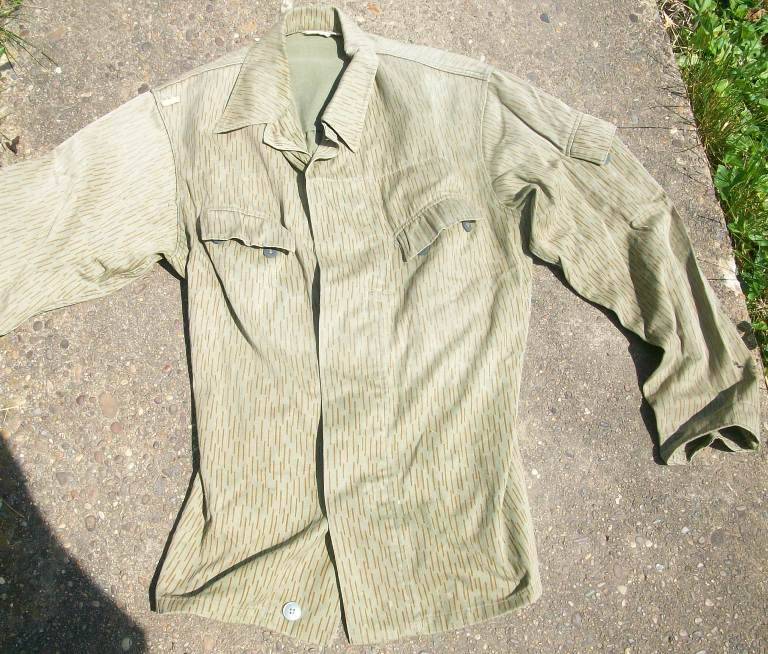 East German Rain Pattern Camo Set Used by SWAPO 00263