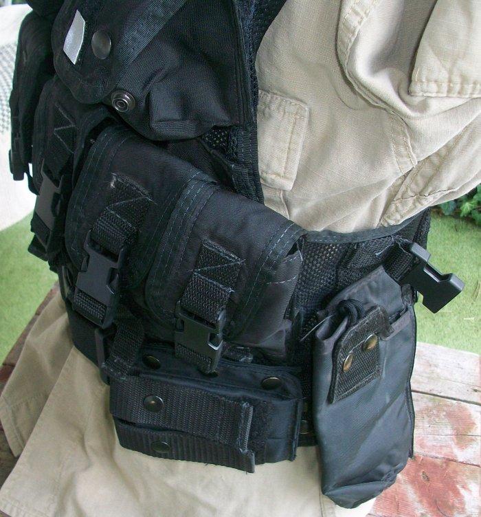 American Body Armor Black Modular Vest 00272