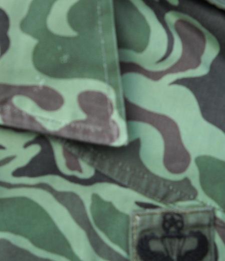 Unusual US Special Forces Advisors Uniform - South Korean Wave/Noodle Pattern 00316