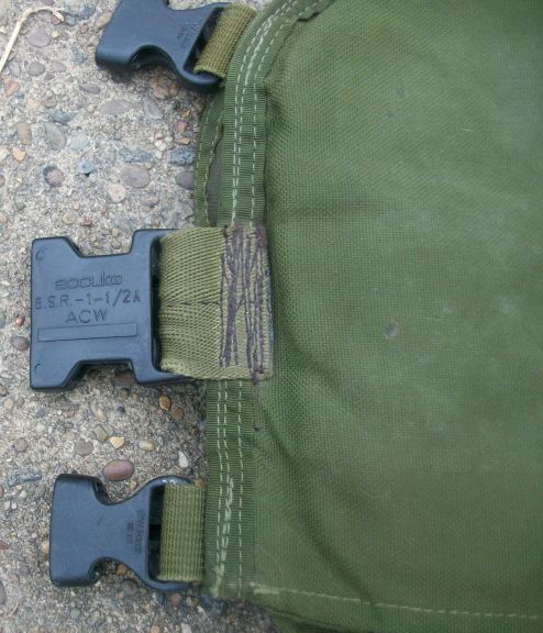Spray Painted and Modified Blackhawk Commando Chest Rig 00323