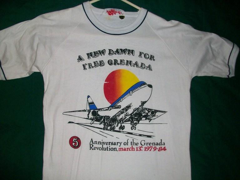 Propaganda T-shirts from Grenada 00352